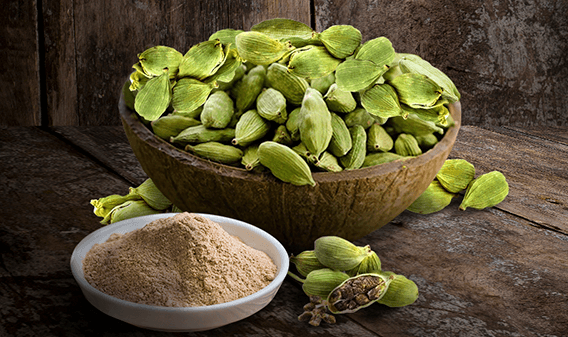 Evok ingredientes cardamomo