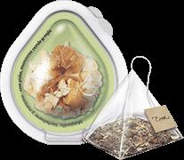 Infusión + Cápsula Manzanilla <br> Hierbabuena - Manzana