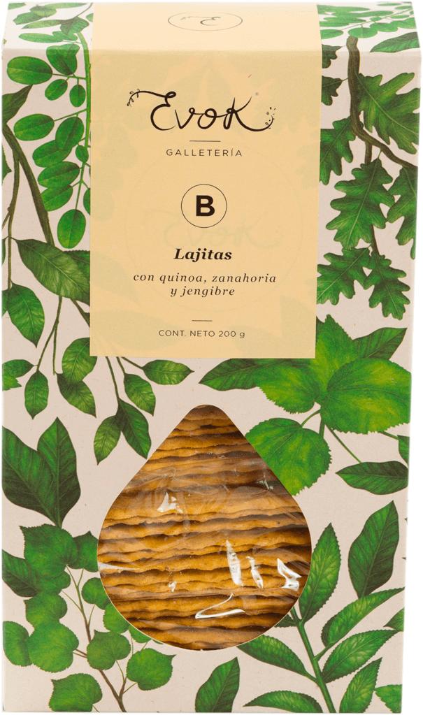 LAJITA B QUINUA-ZANAHORIA-JENGIBRE 210G