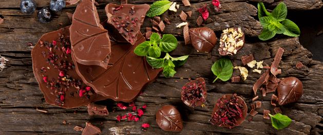 Por qué comer chocolates Evok