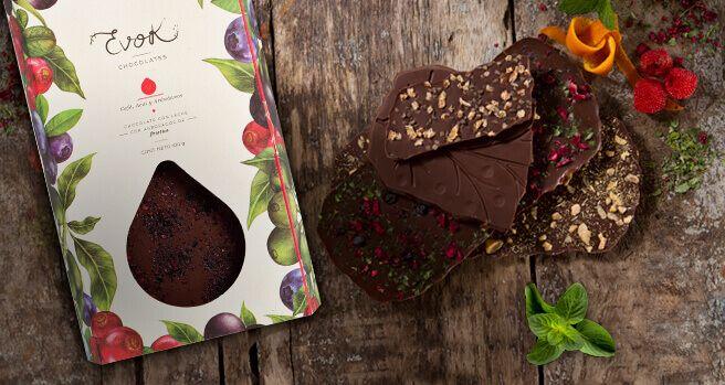 por que comer chocolates Evok