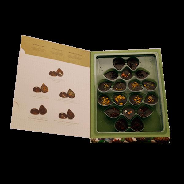 Bombones de chocolate surtido 18 unidades