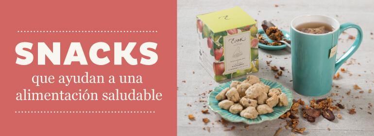 Snacks que ayudan a una alimentación saludable