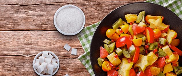 Diferencias entre azúcar y azúcar frutal