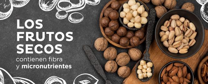 Los frutos secos como el maní o almendras pueden ayudar a tu salud.