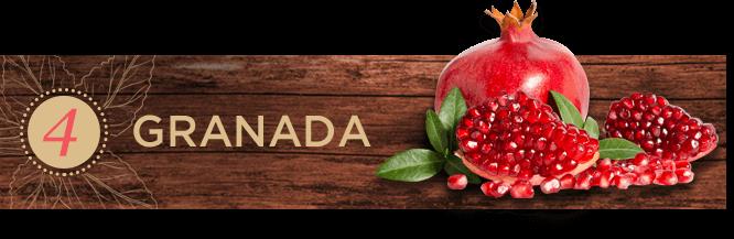 Frutas exóticas: granada