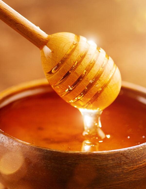 La composición de la miel de abeja depende de muchos factores climáticos y geográficos