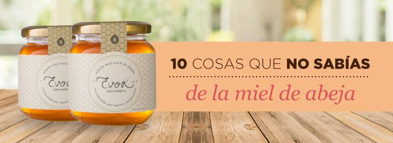 10 COSAS QUE NO SABÍAS DE LA MIEL DE ABEJA