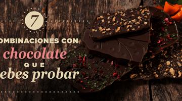 7 combinaciones con Chocolate que debes probar