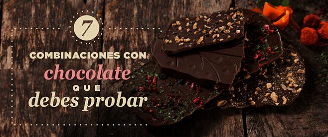 7 combinaciones con chocolate que debes de probar evok
