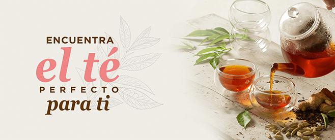 Encuentra el té perfecto para ti