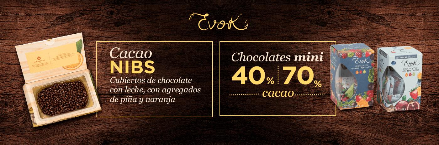 Nuevos Nibs de cacao