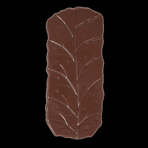 Barra de chocolate con leche y sin agregados