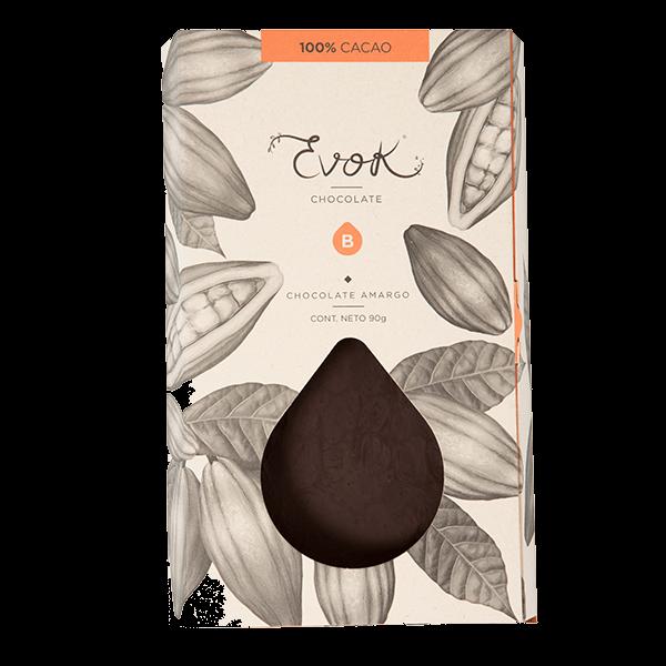 Barra de chocolate con acerola, acai y frambuesa cacao nibs