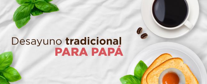 Desayuno colombiano tradicional
